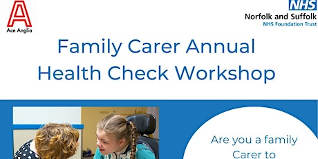 Online Annual Health Check Workshop for Family Carers tickets