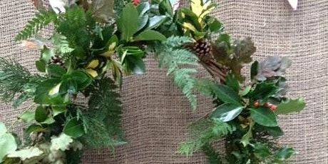 Family Christmas Wreath Making Workshop tickets