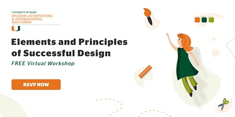 Elements and Principles of Successful Design |  Virtual Workshop tickets
