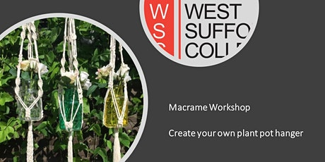 Macrame Workshop - Create your own Plant Hanger tickets