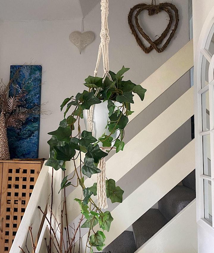 Macrame Workshop - Create your own Plant Hanger image