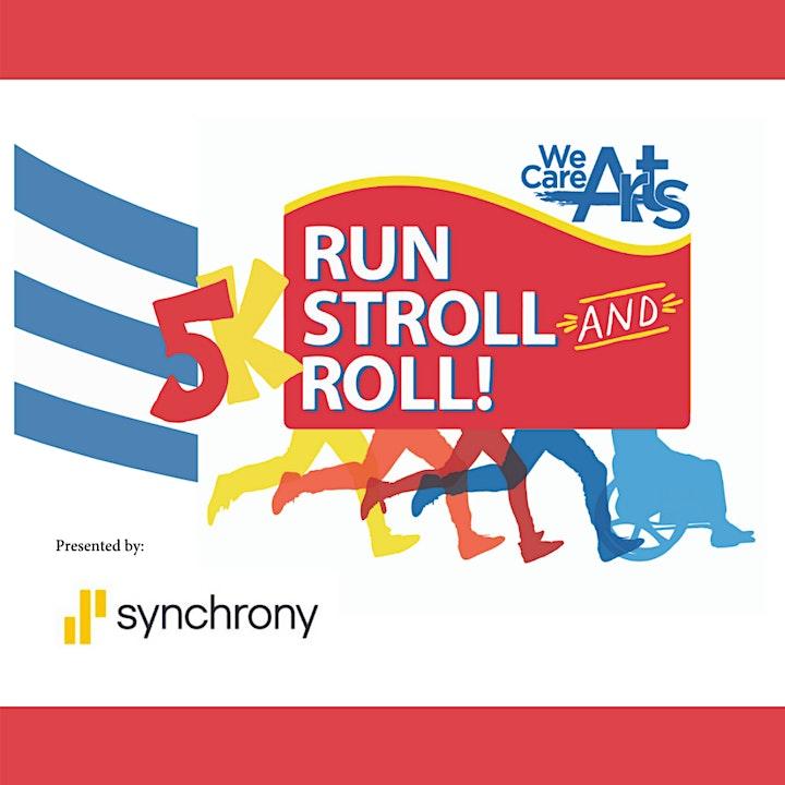 2021 5K Run, Stroll & Roll image