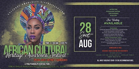AFRICAN CULTURAL HERITAGE AWARENESS FESTIVAL tickets