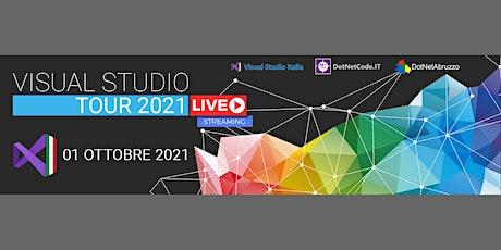 Visual Studio Tour 2021 biglietti