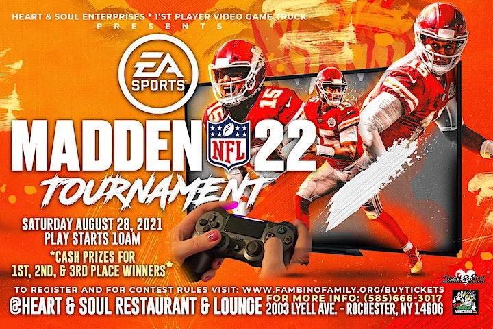 Madden '22 Tournament @Heart & Soul image