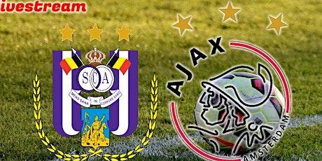LIVE@!.Anderlecht - Ajax LIVE OP TV 2021 billets