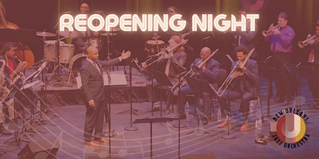 New Orleans Jazz Orchestra Reopening Night at the New Orleans Jazz Market tickets