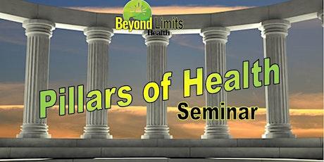 """PILLARS OF HEALTH"" Webinar Series tickets"
