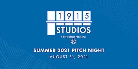 1915 Studios Pitch Night tickets