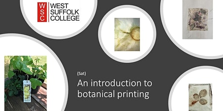 Introduction to Botanical Printing (Sat) tickets