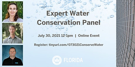Expert Water Conservation Panel (Free) tickets