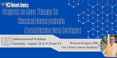 Informational Webinar:Progress on Gene Therapy for Classical Homocystinuria tickets
