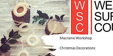 Macrame Workshop - Christmas Macrame tickets