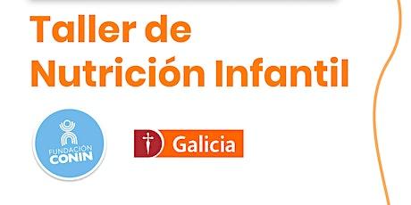 Taller Nutrición Infantil biglietti