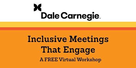 Inclusive Meetings that Engage bilhetes