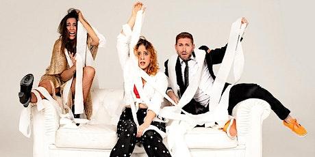 PISO PARA TRES – Riesgo Teatro –COMEDIA MUSICAL – FIESTAS DEL PILAR 2021 entradas