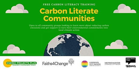 Carbon Literacy Course 2 half days  17 Aug & 19 Aug 10-2 (EPP1708) tickets