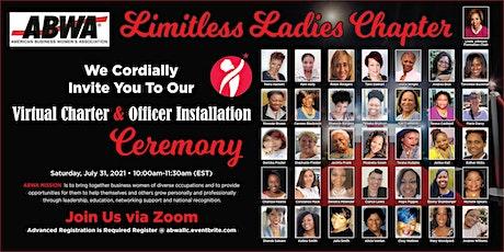 Virtual Charter & Officer Installation Tickets