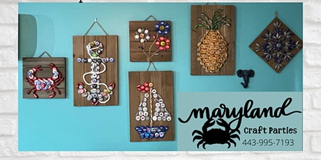 Bottle Cap Craft Night at Tuckers Bar with Maryland Craft Parties tickets