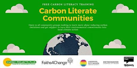 Carbon Literacy Course 2 half days  9 Aug & 10 Aug 10-2 (EPP0908) tickets