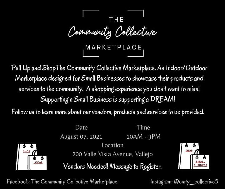 The Community Collective Marketplace Pop Up Shop image