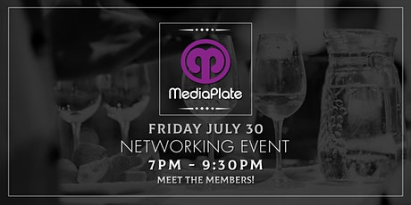 MediaPlate Networking Event tickets