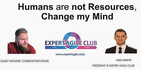 Humans are not resources, Change my mind tickets