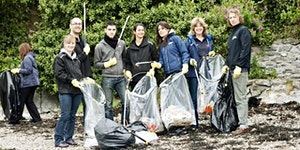P1 Marine Foundation Stokes Bay Beach Clean Up