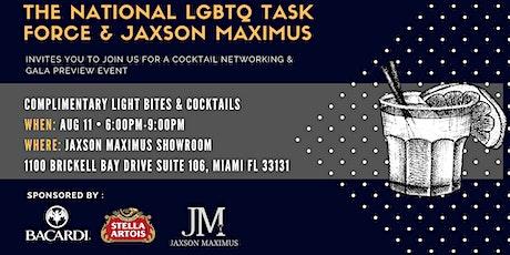 National LGBTQ & Jaxson Maximus Cocktails & Light Bites Networking Event tickets