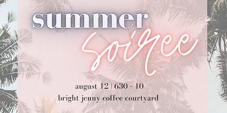 The Bliss Market Summer Soirée tickets