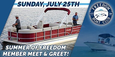 Summer Of Freedom Member Meet and Greet tickets
