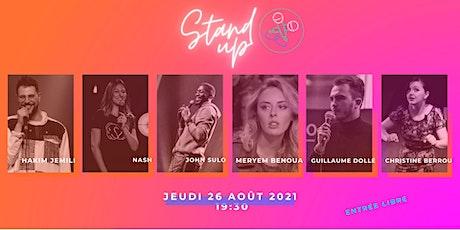 """Été culturel dans le 9e """"Stand Up !"""" par LESTUDIO TALENTS billets"""