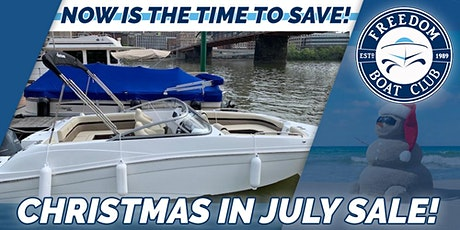 Christmas in July Sale & Open House! tickets