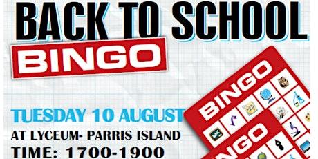 Back to School Bingo 2021 tickets