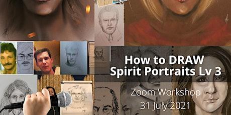 Spirit Portrait Art Level 3 Drawing Workshop - Combine Mediumship tickets