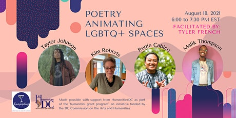 Humanitini: Poetry Animating LGBTQ+ History, Places, and Spaces tickets