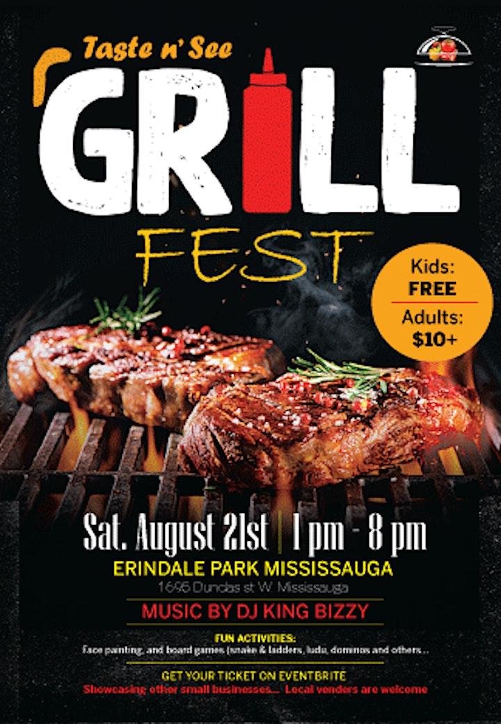 Taste N See Grill fest image