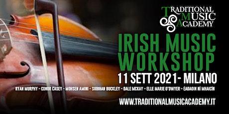 Workshop Traditional Irish Music biglietti