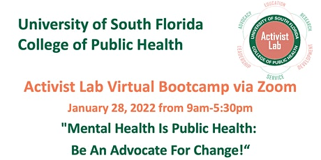 Bootcamp 2022 Mental Health is Public Health: Be an advocate for change! tickets