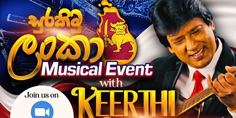 Surakimu Lanka Musical Show  with Keerthi Pasquel tickets