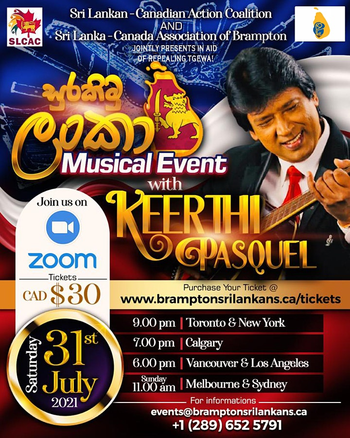 Surakimu Lanka Musical Show  with Keerthi Pasquel image