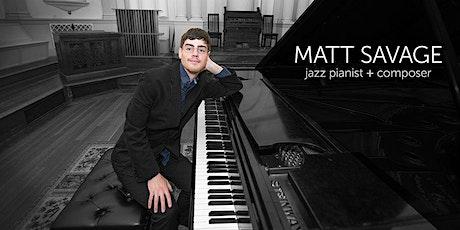 1st Saturdays: Matt Savage Jazz tickets