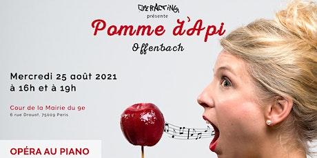 """Été culturel dans le 9e """"Opérette Pomme d'Api"""" par Operacting billets"""