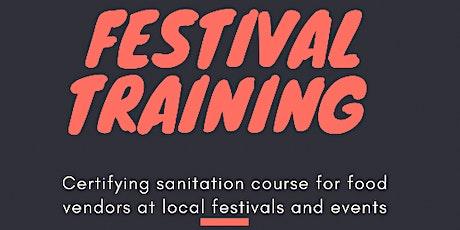 City of Chicago Summer Festival Training tickets