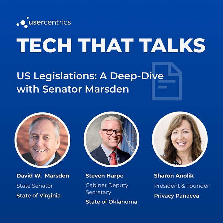 Tech That Talks - US legislations: A deep-dive with Senator Marsden image