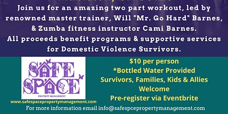 Workout to Take Out Domestic Violence tickets