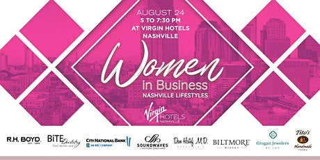 Women in Business presented by Nashville Lifestyles tickets