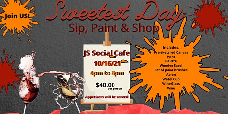 Sip, Paint & Shop tickets