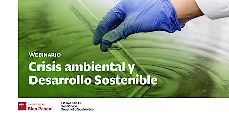Webinario> Crisis ambiental y desarrollo sostenible entradas