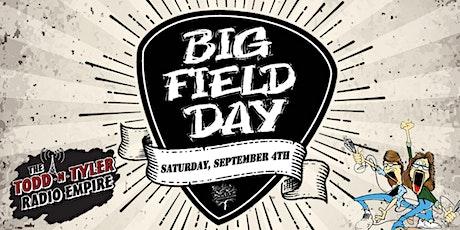 Z-92's Todd-N-Tyler Big Field Day @ SumTur Amphitheater tickets